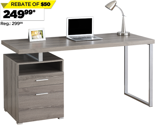 Single Pedestal Desk