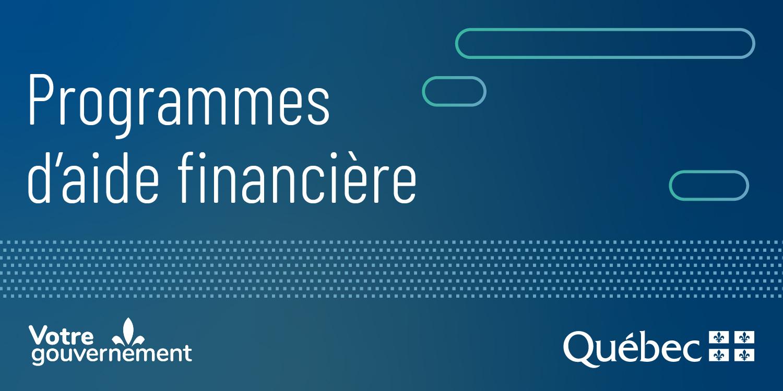 Programmes d'aide financière
