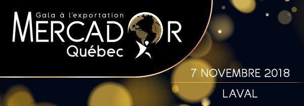 Gala à l'exportation Mercador Québec / 7 novembre 2018 / Laval